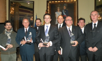 Şase spanioli premiaţi pentru sprijinirea culturii române