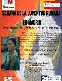 """Exposición """"Jóvenes Artistas Rumanos"""" en el CEPI Alcala de Henares"""