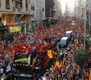 """""""La Roja"""" a scos 1 milion de oameni în stradă"""