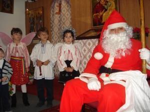 Colinde şi daruri la Bisericile Ortodoxe din Castellon şi Vila-Real