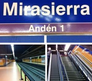 Metroul madrilen are o noua statie