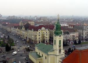 Turnul Primariei Oradea este obiectiv turistic