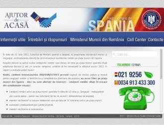 Ajutor de acasa pentru romanii din Spania afectati de restrictii