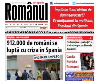 Ziarul Romanul din Spania implineste 3 ani