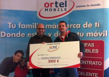 Ortel Mobile premia las recargas de sus clientes