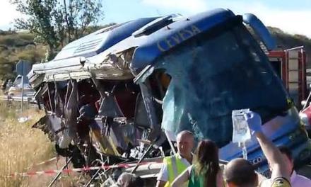 Romanca ranita in accidentul de autocar de la Avila