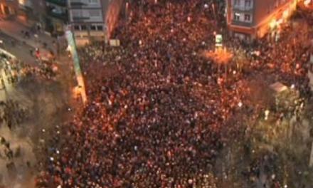Manifestaţii la Bilbao cu sprijinul partidelor naţionaliste