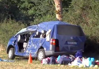 Trei români morți într-un accident rutier în Navarra