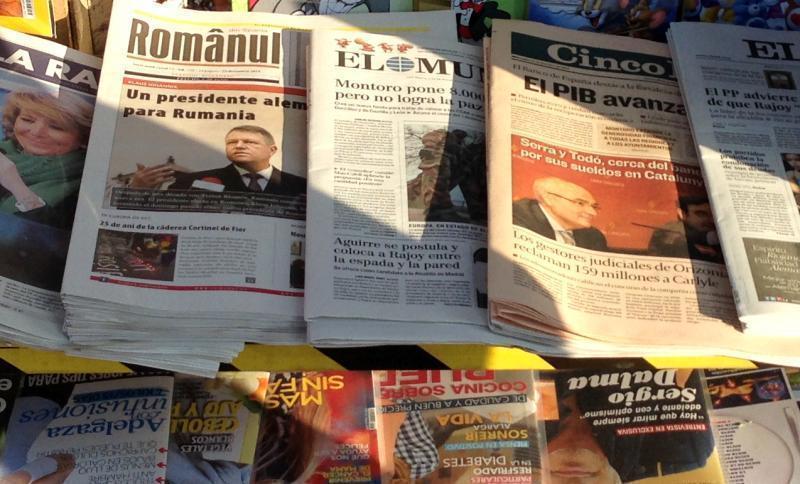 Românul, prima publicație românească vândută la chioșcuri în Spania