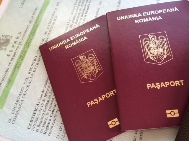 Rezidenţa spaniolă nu mai trebuie tradusă pentru paşaport