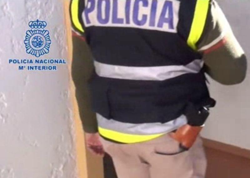 Românce eliberate din mâinile proxeneților, la Alicante