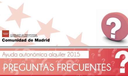 Dudas y respuestas – Ayuda al Alquiler Madrid 2015