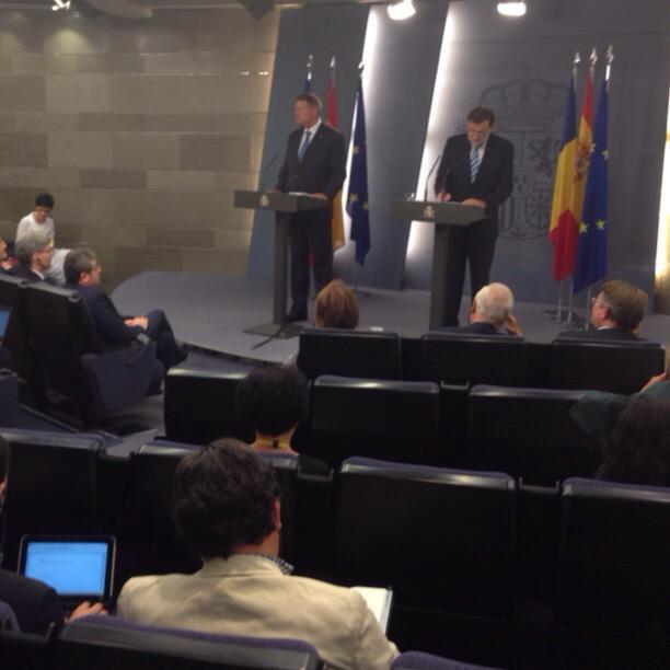 Iohannis la Madrid – Acordul pentru dubla cetățenie rămâne la stadiul discuțiilor