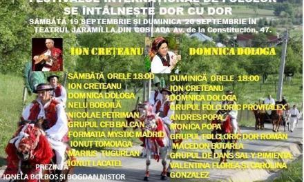 Festival de muzică populară românească la Coslada (Madrid)