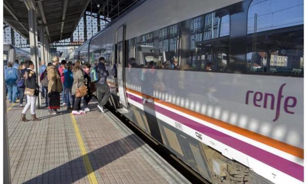 RENFE le recomandă călătorilor să nu meargă cu trenul