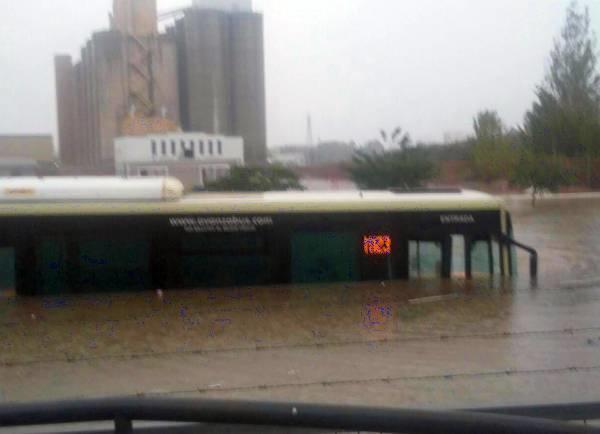 Româncă ucisă de inundațiile din Málaga