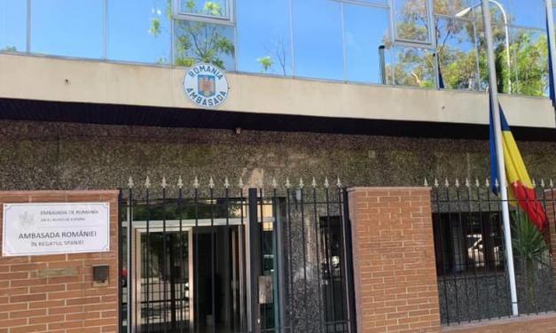 Spania îndoliată – Ambasada României a coborât drapelul în bernă