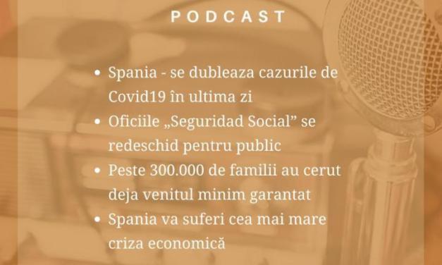 24 iunie 2020: Se dublează cazurile de Covid19 în Spania – Se redeschid birourile de la Seguridad Social – Spania va avea cea mai mare criză economică din lume