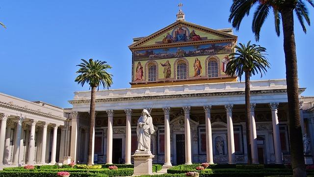 A Basílica de São Paulo Extramuros