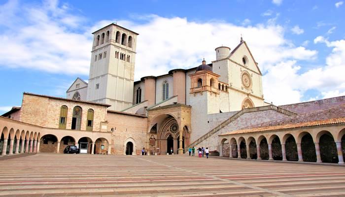 A basilica de sao Francisco de Assis