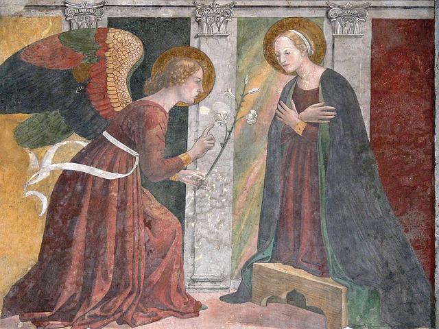 Afresco do Pintor Rafael no Pantheon