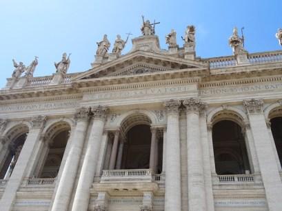 Fachada da Basílica João de Latrão