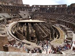 Por dentro do Coliseu