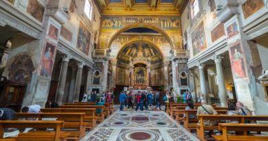 A Básilica de Santa Praxedes em Roma