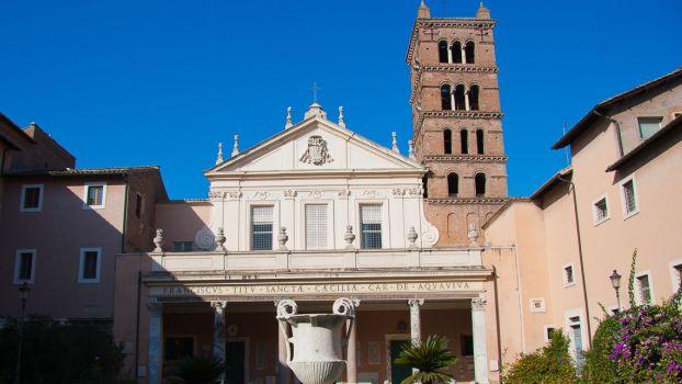 Cripta da Basílica de Santa Cecília