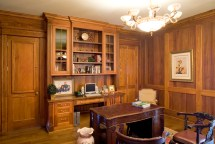 Custom Cabinets And Shelves Home Office