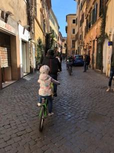 Tour di Roma in Bici con Bambini