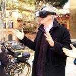 Passeggiata in bici per Roma e Realtà virtuale in un unico tour