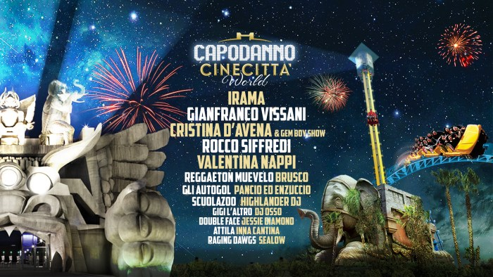 Capodanno 2019 Cinecittà World