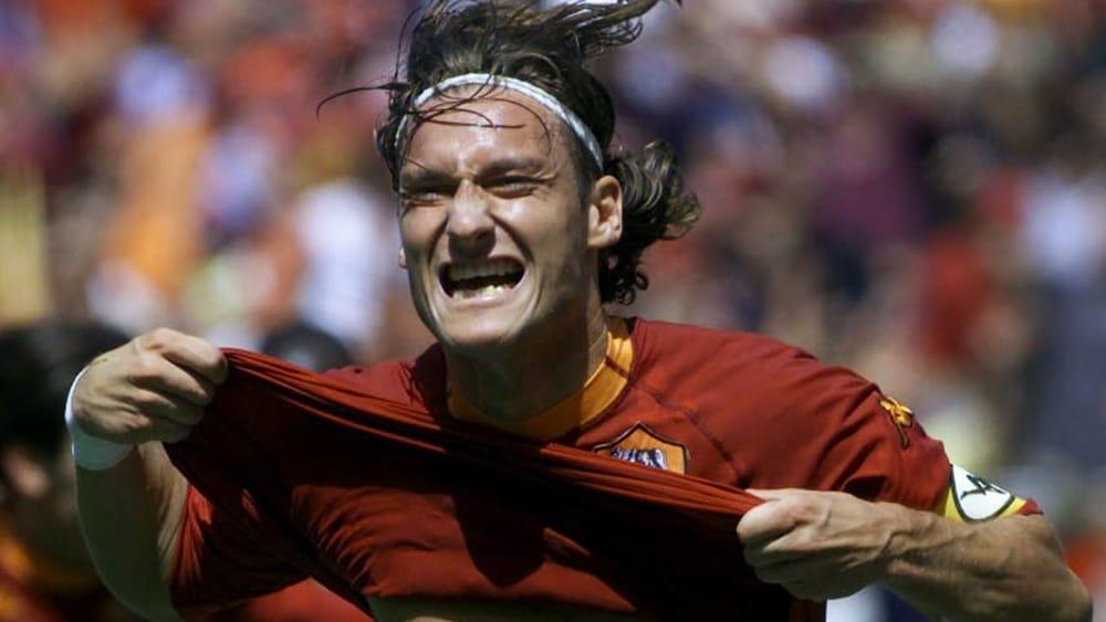 Francesco Totti lelenco dei 10 momenti migliori della