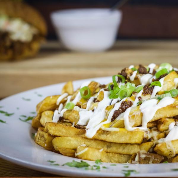 Romby's Tavern and Smokehouse Loaded Fries