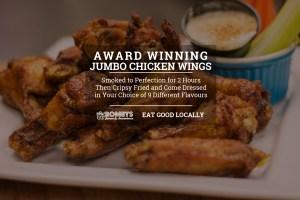 Romby's Tavern & Smokehouse - Award Winning Smoked Chicken Wings