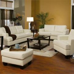Loveseat Sleeper Sofa Leather All Weather Rattan Corner Cream Set Samuel Collection Item 501691