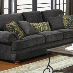 Living Room Loveseat Clearance 504401 Coaster Smokey Grey Sofa Set Colton Collection