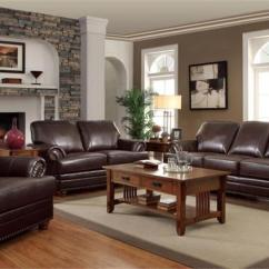 Coaster Samuel Bonded Leather Sofa Traditional Sectional Sofas Chaise 504411 Colton Brown Set Collection