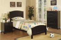 Black Twin Bedroom Set F9208