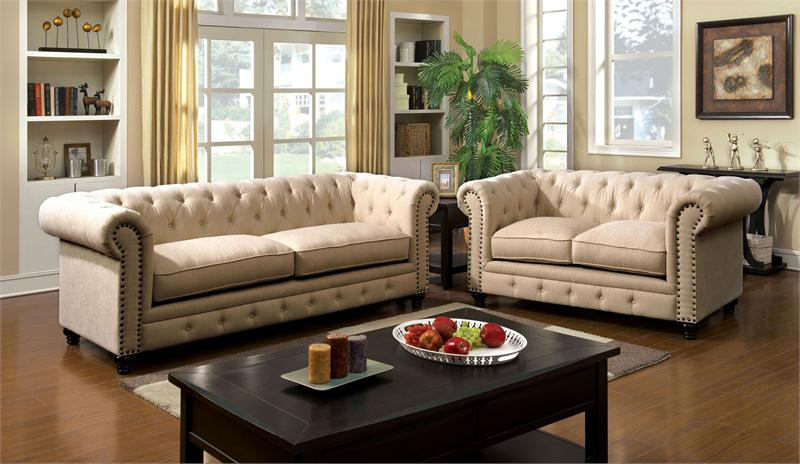 Stanford Ivory Sofa Collection CM6269IV