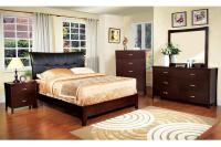 Midland Padded Headboard Bedroom Set Item CM7610