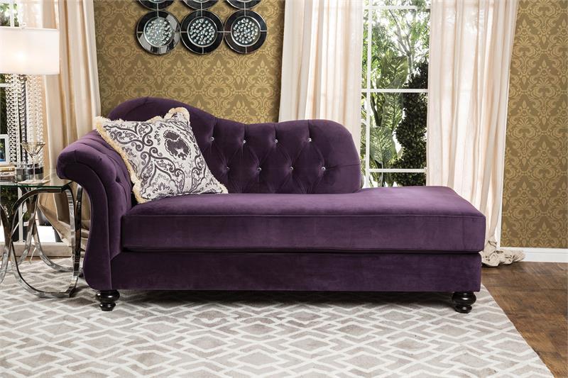 purple tufted sofa set best affordable sleeper antionette sm2222