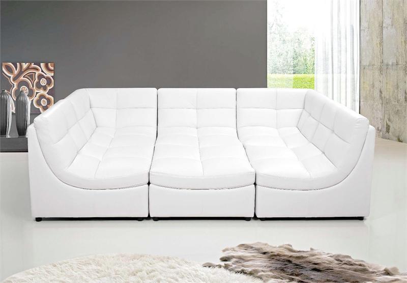 Black Modular Sectional Sofa 9148 Best Master