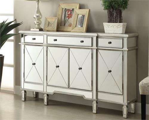 102595 Coaster Mirrored Buffet Cabinet