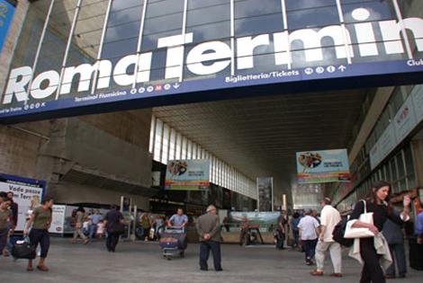 Termini station. Rome