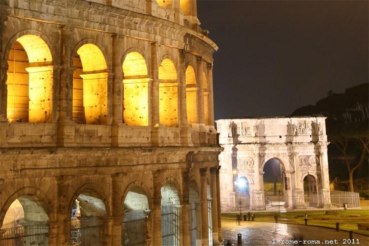 Photos du Colise de Rome