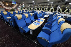 Economy class on Hellenic Seaways Highspeed 4 catamaran.