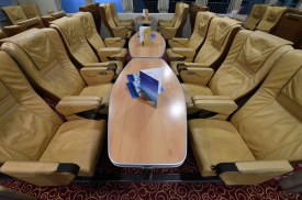 VIP class on Hellenic Seaways Highspeed 4 catamaran.