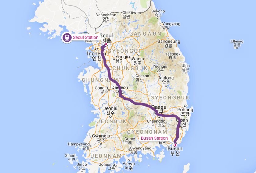 How To Travel From Seoul To Busan South Korea Rome2rio Travel Guides